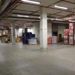 Installatielocatie van de Autoloadbailer in het magazijn