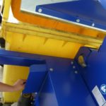 Mobiele containerpers / rolcontainerpers